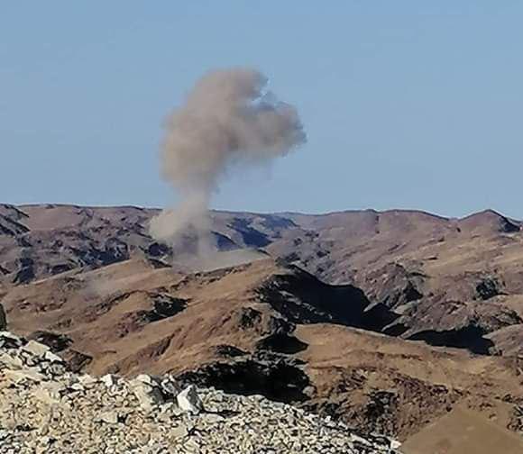 غارات جوية مكثفة قبيل انطلاق عملية عسكرية واسعة في البيضاء (صور)
