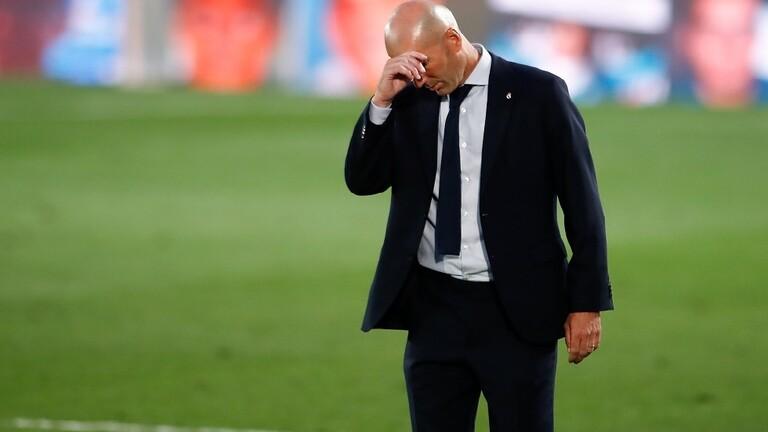 """زيدان يكشف مستقبله مع ريال مدريد بعد الخسارة أمام """"السيتي"""""""