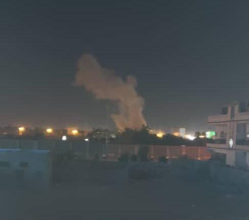 عاجل بالصور.. انفجار يهز مأرب وأعمدة الدخان تتصاعد من المدينة ومصدر يكشف مصدره