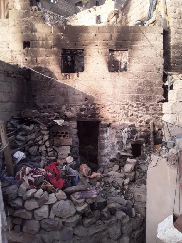 وفاة 4 أطفال حرقًا من أسرة واحدة في جريمة مروعة بتعز