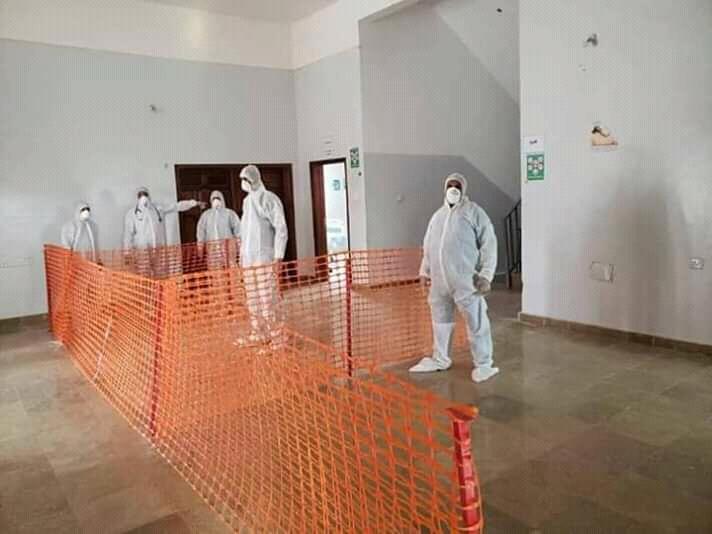 الحوثيون يعلنون ضبط 6 متسللين مشتبه باصابتهم بفيروس كورونا