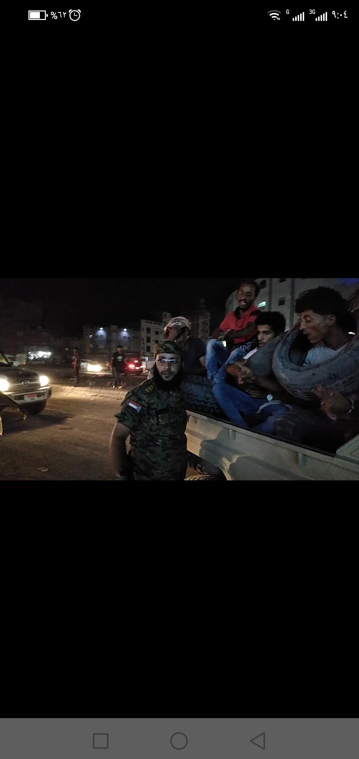 عاجل...قوات الأمن التابعة للانتقالي تطارد المتظاهرين في أحياء كريتر