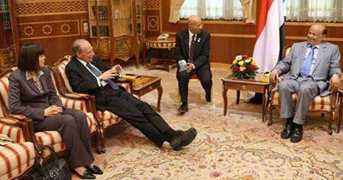 الحوثيون يكشفون وثائق سرية تتضمن توجيهات أمريكية للرئاسة اليمنية