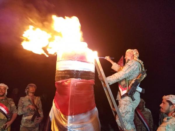 شاهد.. الجيش الوطني يوقد شعلة سبتمبر في صنعاء