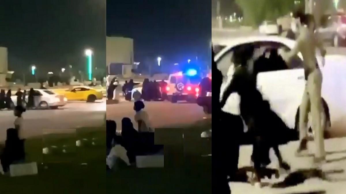 بالأسلحة البيضاء.. مضاربة جماعية حامية بين يمنيين ويمنيات في السعودية