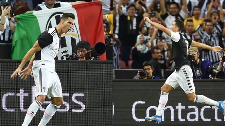 رونالدو يحتفي بطريقته الخاصة بفوز ريال مدريد على برشلونة