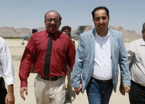 خمسة وزراء يصلون مأرب بأمر من الرئيس هادي