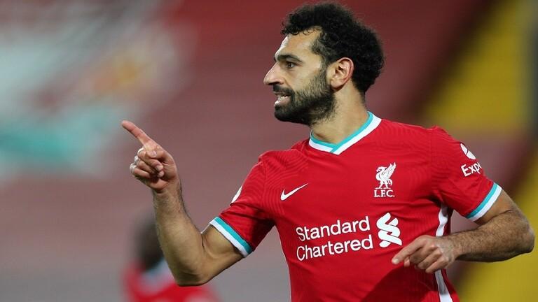 جماهير ليفربول تتوقع تسجيل المصري صلاح هدفا تاريخيا الليلة