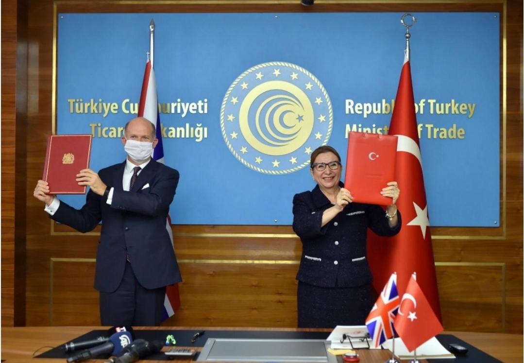 اتفاقية تاريخية.. تركيا وبريطانيا تدخلان مرحلة التجارة الحرة بينهما