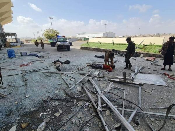 الداخلية تكشف الإحصائية النهائية لضحايا هجوم عدن الصاروخي
